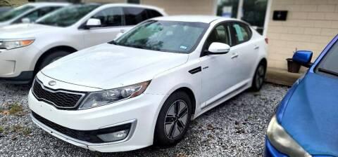 2013 Kia Optima Hybrid for sale at Dealmakers Auto Sales in Lithia Springs GA