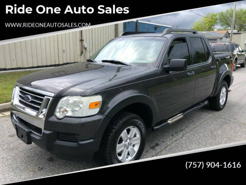 2007 Ford Explorer Sport Trac for sale at Ride One Auto Sales in Norfolk VA
