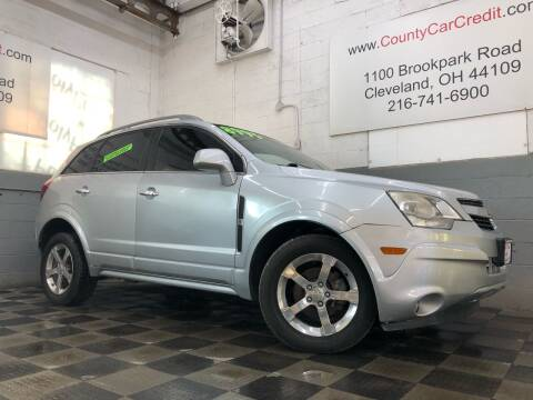 2014 Chevrolet Captiva Sport for sale at County Car Credit in Cleveland OH