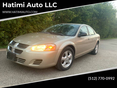 2005 Dodge Stratus for sale at Hatimi Auto LLC in Buda TX