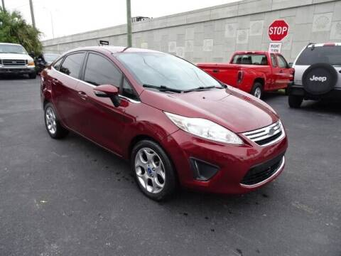 2013 Ford Fiesta for sale at DONNY MILLS AUTO SALES in Largo FL