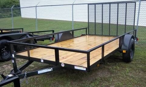 "2020 Triple Crown 6' 4"" x 12' Utility for sale at Sanders Motor Company in Goldsboro NC"