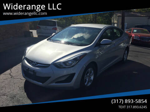 2014 Hyundai Elantra for sale at Widerange LLC in Greenwood IN
