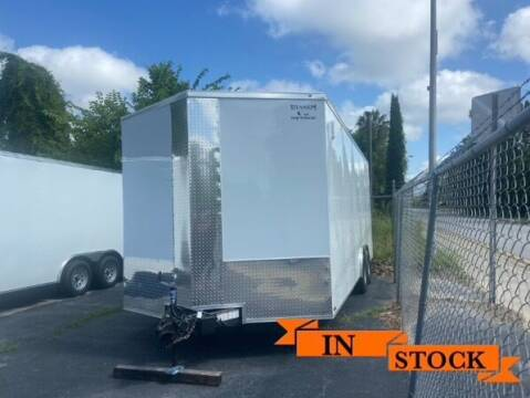2021 Titanium Cargo 8.5 x 20 TA 2 for sale at Grizzly Trailers in Fitzgerald GA