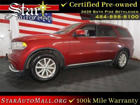 2014 Dodge Durango for sale at STAR AUTO MALL 512 in Bethlehem PA