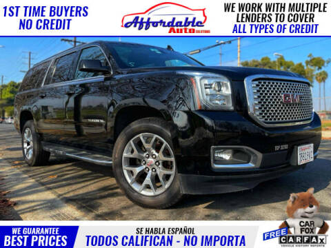 2018 GMC Yukon XL for sale at Affordable Auto Solutions in Wilmington CA