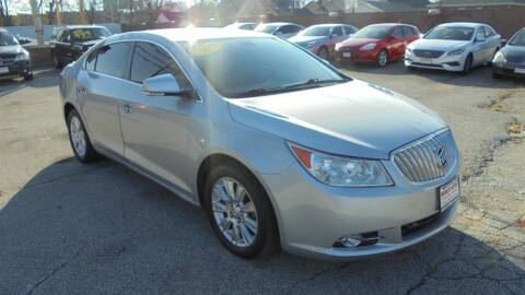 2012 Buick LaCrosse for sale at Absolute Motors in Hammond IN
