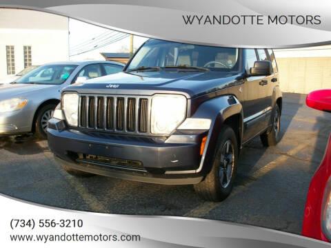 2008 Jeep Liberty for sale at Wyandotte Motors in Wyandotte MI