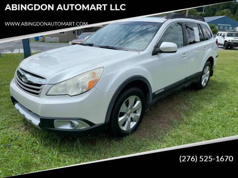 2011 Subaru Outback for sale at ABINGDON AUTOMART LLC in Abingdon VA