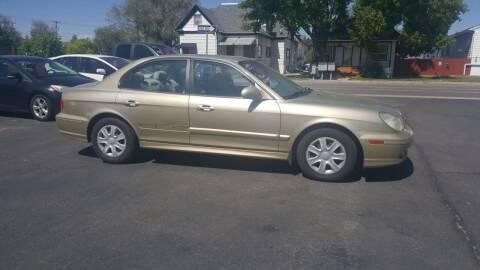 2004 Hyundai Sonata for sale at BRAMBILA MOTORS in Pocatello ID