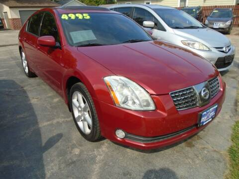 2005 Nissan Maxima for sale at DISCOVER AUTO SALES in Racine WI