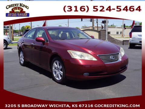 2008 Lexus ES 350 for sale at Credit King Auto Sales in Wichita KS