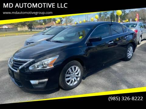 2015 Nissan Altima for sale at MD AUTOMOTIVE LLC in Slidell LA