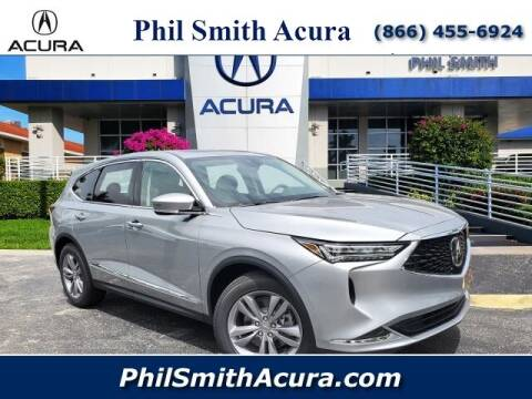 2022 Acura MDX for sale at PHIL SMITH AUTOMOTIVE GROUP - Phil Smith Acura in Pompano Beach FL