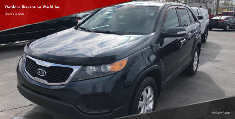 2013 Kia Sorento for sale at Outdoor Recreation World Inc. in Panama City FL
