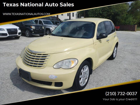 2007 Chrysler PT Cruiser for sale at Texas National Auto Sales in San Antonio TX