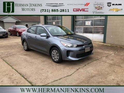 2020 Kia Rio for sale at Herman Jenkins Used Cars in Union City TN