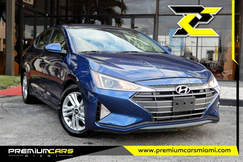 2020 Hyundai Elantra for sale at Premium Cars of Miami in Miami FL