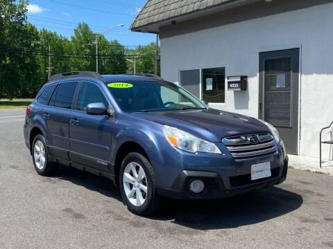 2014 Subaru Outback for sale at Vantage Auto Group Tinton Falls in Tinton Falls NJ