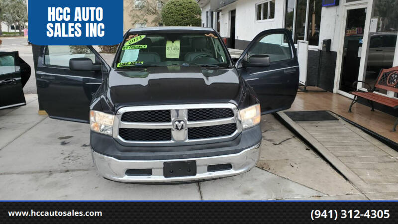 2014 RAM Ram Pickup 1500 for sale at HCC AUTO SALES INC in Sarasota FL