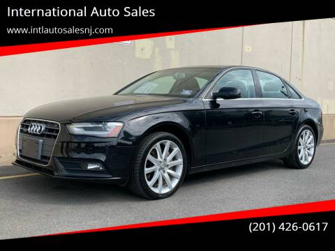 2013 Audi A4 for sale at International Auto Sales in Hasbrouck Heights NJ