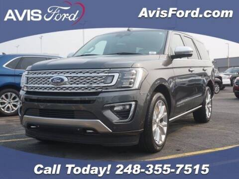 2019 Ford Expedition for sale at Work With Me Dave in Southfield MI