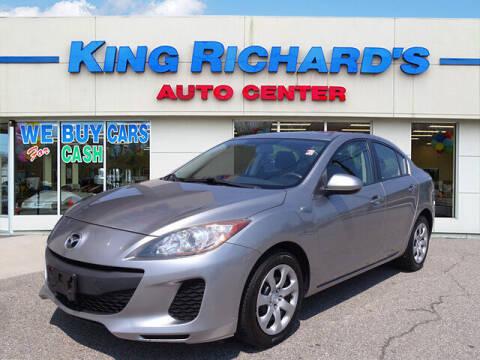2013 Mazda MAZDA3 for sale at KING RICHARDS AUTO CENTER in East Providence RI