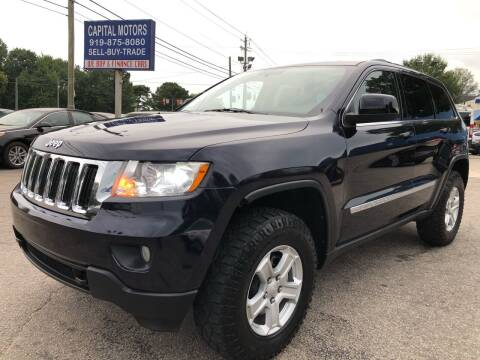 2011 Jeep Grand Cherokee for sale at Capital Motors in Raleigh NC