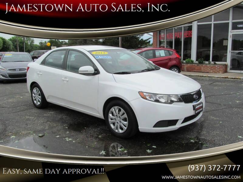 2013 Kia Forte for sale at Jamestown Auto Sales, Inc. in Xenia OH