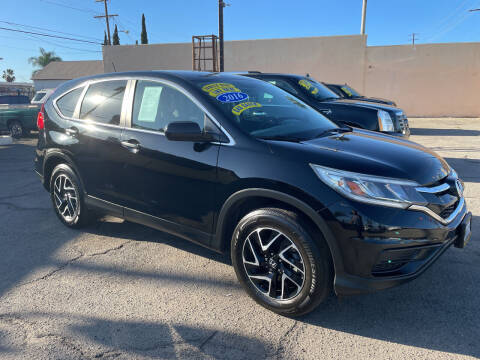 2016 Honda CR-V for sale at JR'S AUTO SALES in Pacoima CA