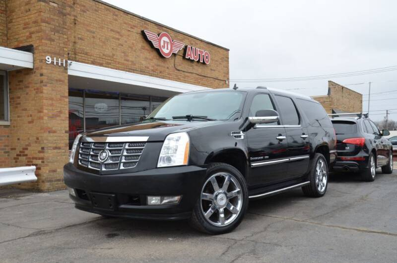 2008 Cadillac Escalade ESV for sale at JT AUTO in Parma OH