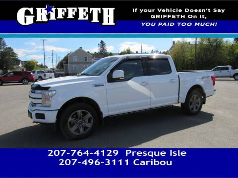 2020 Ford F-150 for sale at Griffeth Mitsubishi - Pre-owned in Caribou ME