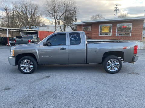 2012 Chevrolet Silverado 1500 for sale at Lewis Used Cars in Elizabethton TN