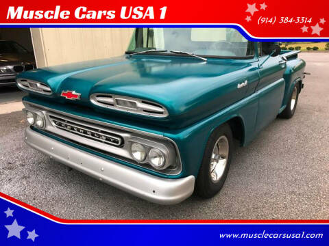 1961 Chevrolet Apache for sale at Muscle Cars USA 1 in Murrells Inlet SC