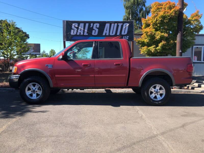 2003 Ford F-150 for sale at Sal's Auto in Woodburn OR