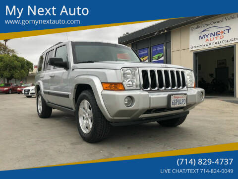2008 Jeep Commander for sale at My Next Auto in Anaheim CA