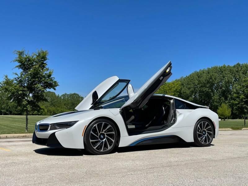 2014 BMW i8 for sale at Classic Auto Haus in Geneva IL