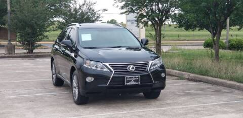 2014 Lexus RX 350 for sale at America's Auto Financial in Houston TX