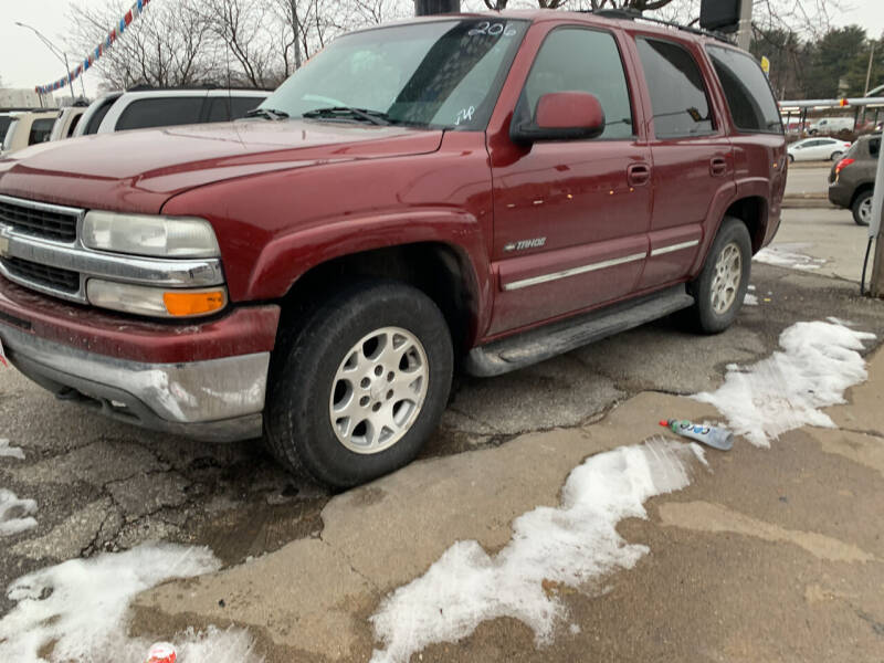 2002 Chevrolet Tahoe for sale at Sonny Gerber Auto Sales 4519 Cuming St. in Omaha NE