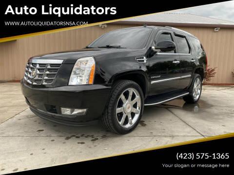 2014 Cadillac Escalade for sale at Auto Liquidators in Bluff City TN