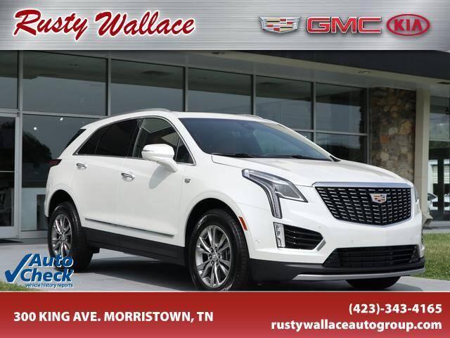 2021 Cadillac XT5 for sale at RUSTY WALLACE CADILLAC GMC KIA in Morristown TN