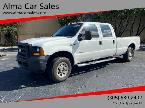 2006 Ford F-250 Super Duty for sale at Alma Car Sales in Miami FL