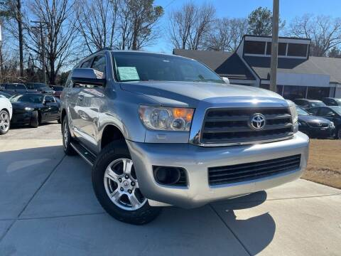 2008 Toyota Sequoia for sale at Alpha Car Land LLC in Snellville GA