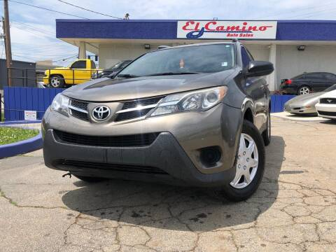 2015 Toyota RAV4 for sale at el camino auto sales in Gainesville GA