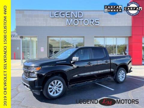 2019 Chevrolet Silverado 1500 for sale at Legend Motors of Waterford in Waterford MI