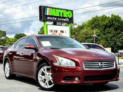 2013 Nissan Maxima for sale at Used Imports Auto - Metro Auto Credit in Smyrna GA