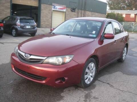 2010 Subaru Impreza for sale at ELITE AUTOMOTIVE in Euclid OH