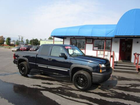 2006 Chevrolet Silverado 1500 for sale at Jim's Cars by Priced-Rite Auto Sales in Missoula MT