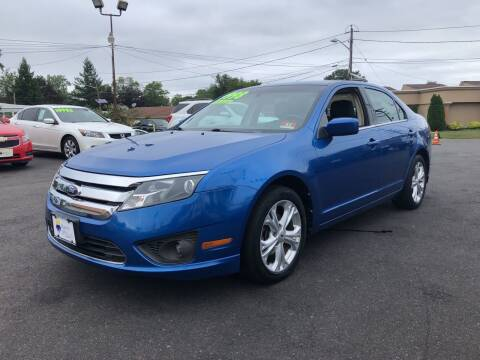 2012 Ford Fusion for sale at Majestic Automotive Group in Cinnaminson NJ