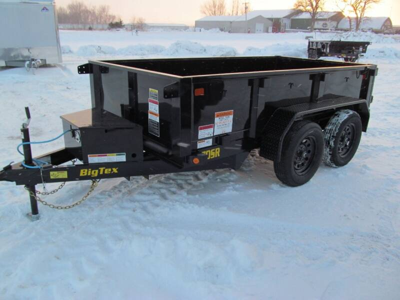2021 Big Tex 10' DUMP TRAILER for sale at Flaherty's Hi-Tech Motorwerks in Albert Lea MN